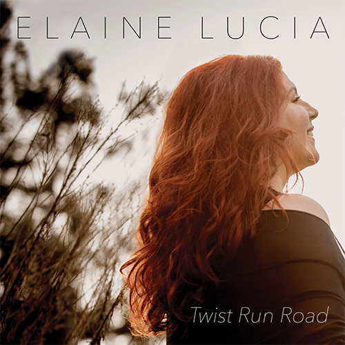 Elaine Lucia - Twist Run Road CD cover